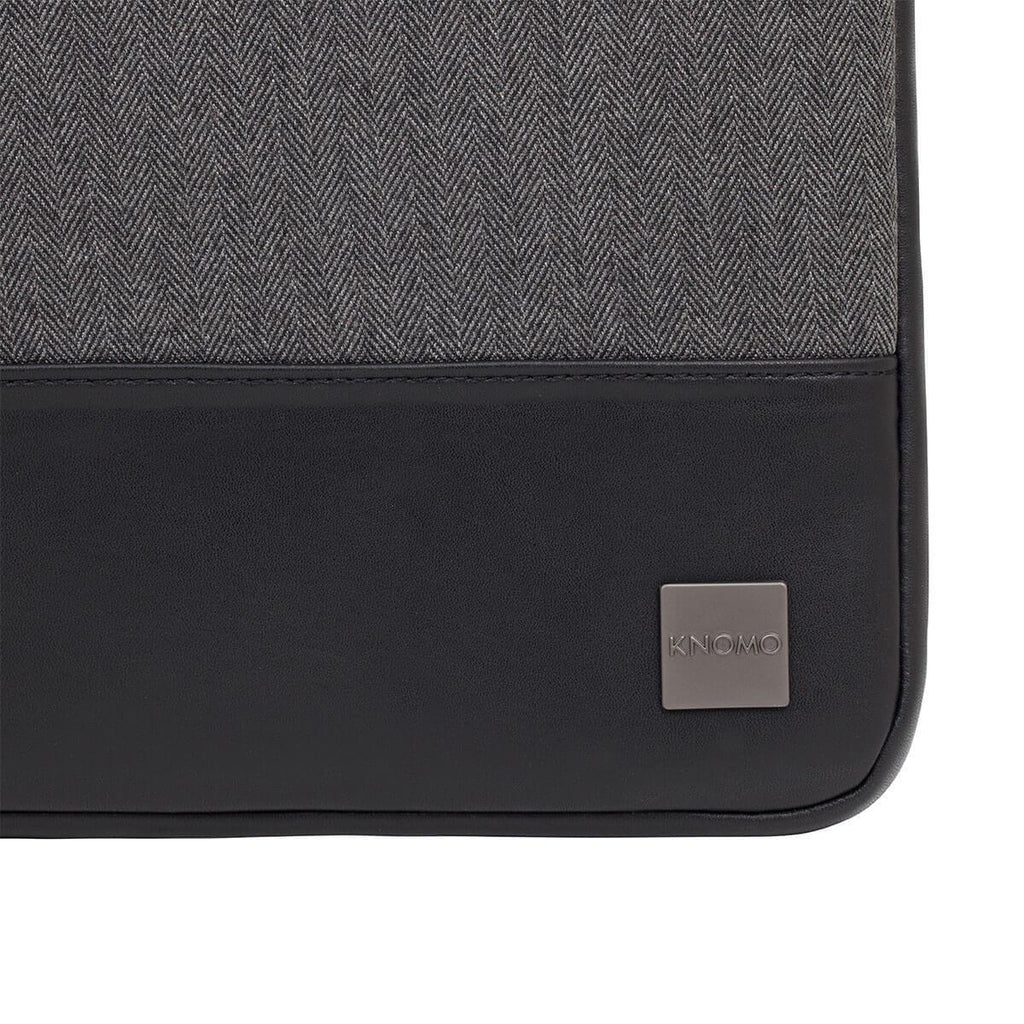 "Herringbone 14"" Laptop Sleeve for Ultrabooks - Grey – KNOMO"