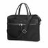 "KNOMO Hanover Laptop Briefcase Three Quarter View With Strap 14"" -  Black 