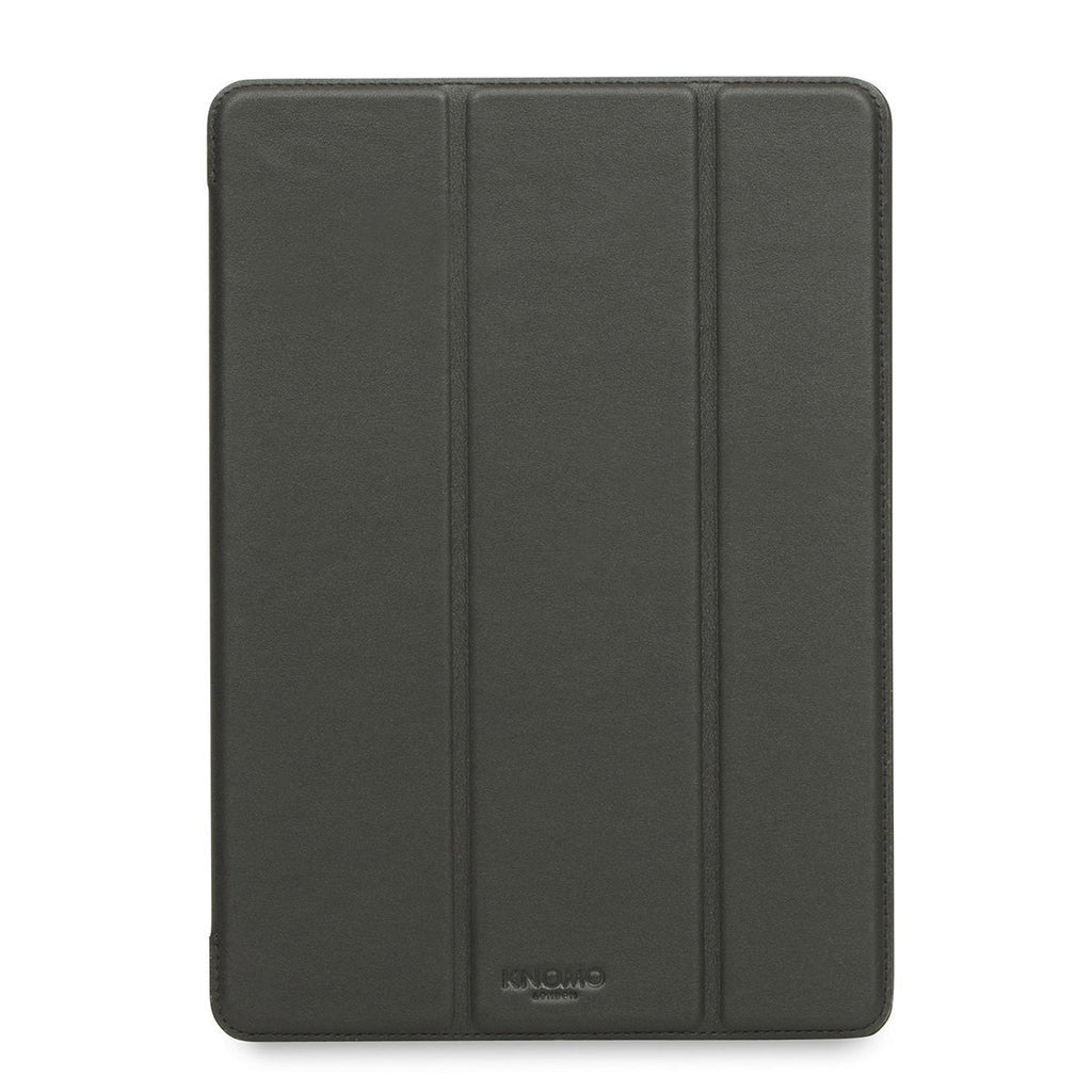"Leather 9.7"" iPad Pro 2016 Folio Case Tri-Fold - Black – KNOMO"