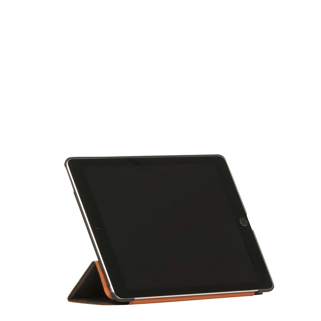 "Leather 9.7"" iPad Pro 2016 Folio Case Tri-Fold - Brown – KNOMO"