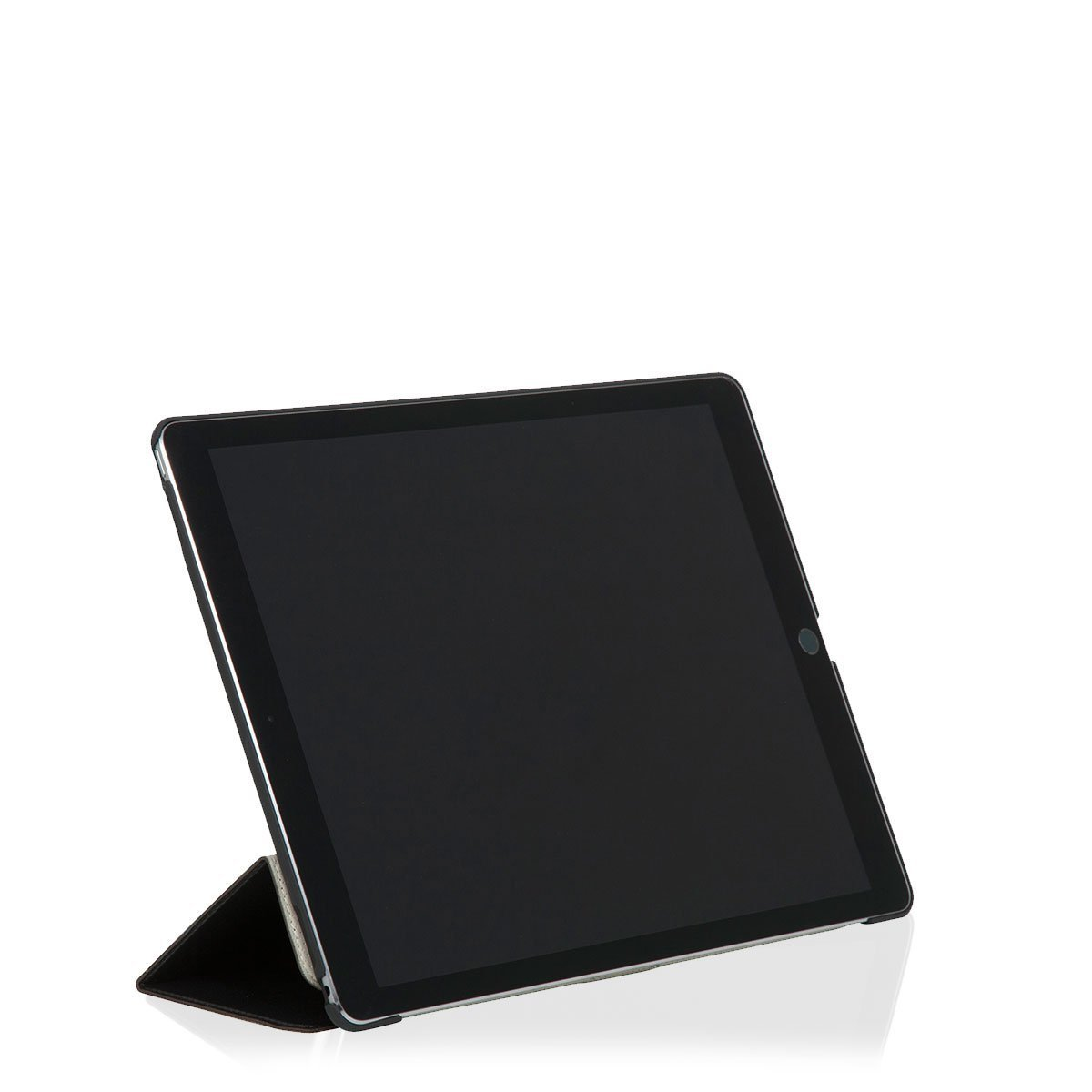 "Leather Tri-fold iPad Folio (2015) - 12.9"" iPad Pro (2015 release) - 12.9"" -  Black 