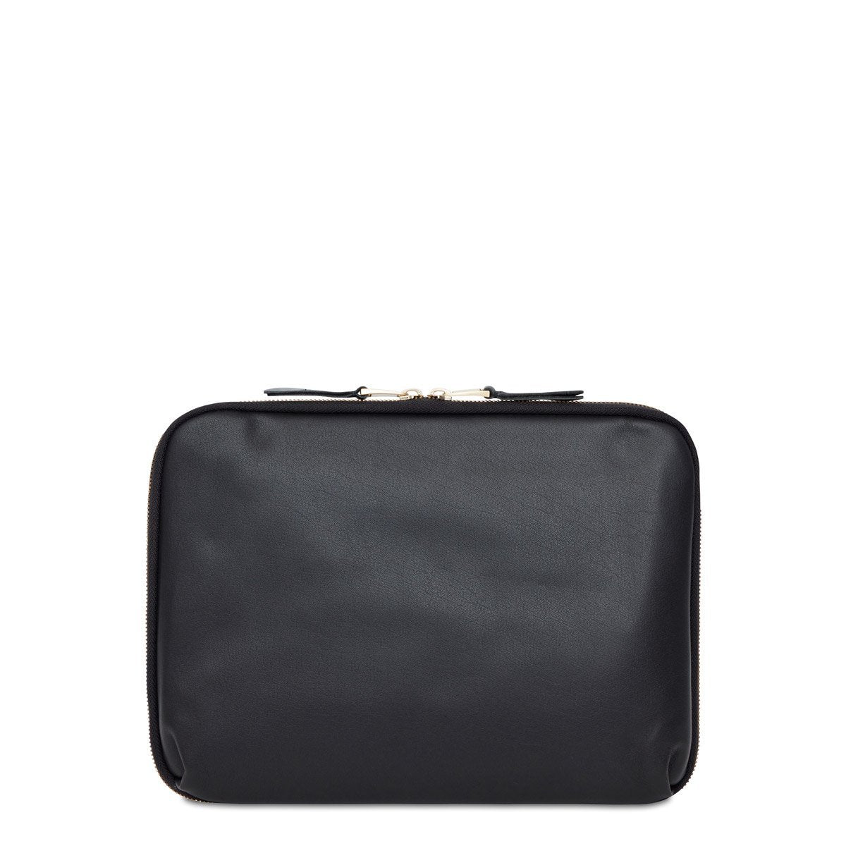 "Mayfair Luxe Knomad Organiser - 10.5"" Leather Tech Organiser - 10.5"" -  Black 
