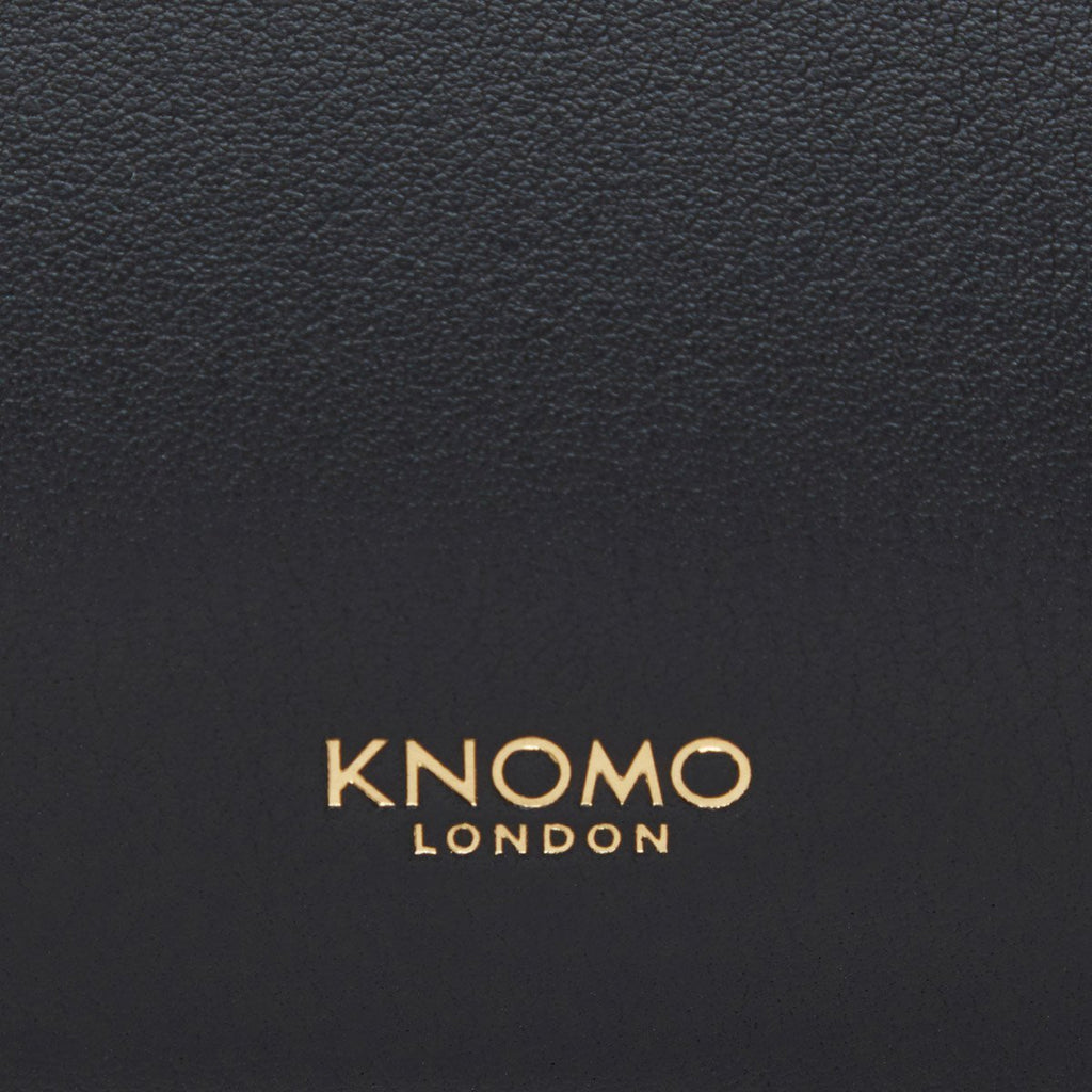 "Leather Tech Organiser 10.5"" - Black 