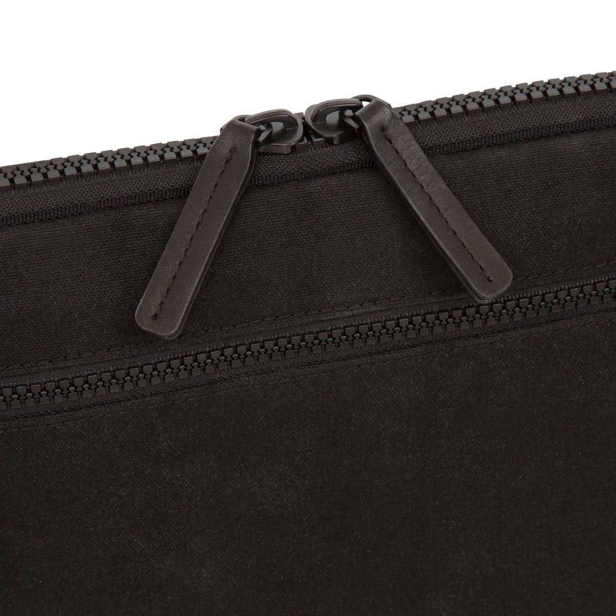 "Fulham 10.5"" Knomad Tablet Organiser Bag - Black Canvas – KNOMO"
