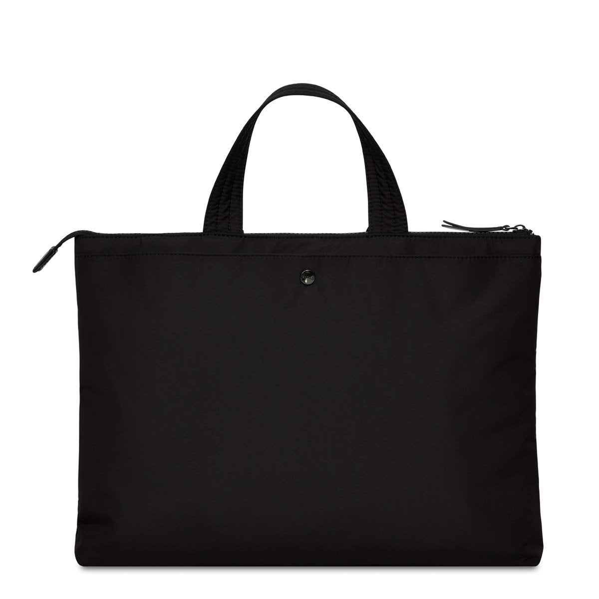 "KNOMO Copenhagen Laptop Briefcase From Back 14"" -  Black 