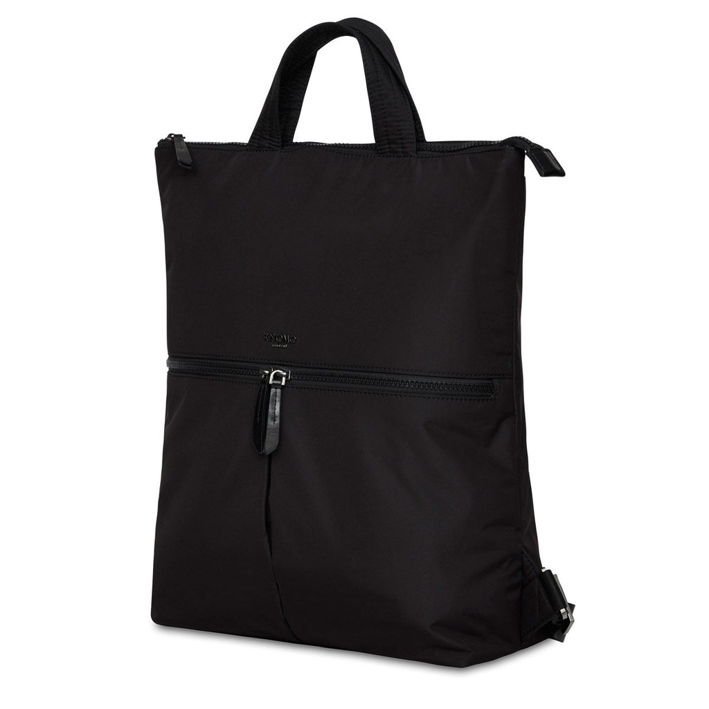 "Reykjavik Womens 15"" Laptop Tote Backpack - Black 