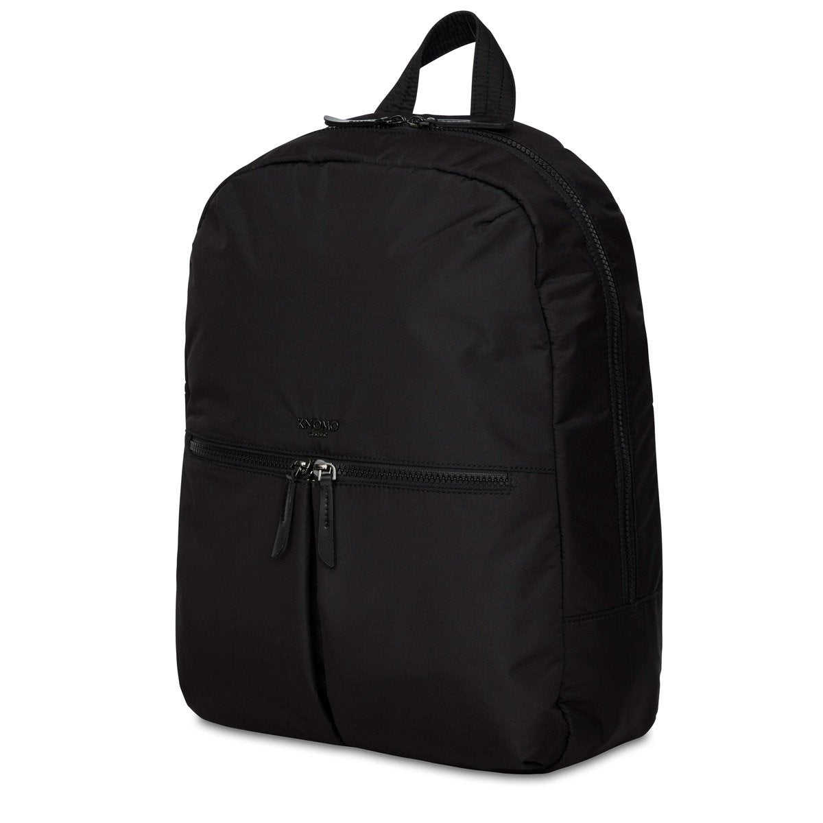 "KNOMO Berlin Laptop Backpack Three Quarter View 15"" -  Black 