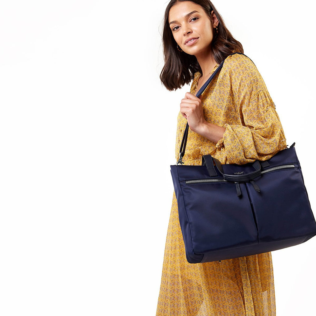 "Blenheim 14"" Laptop Tote - Dark Navy 