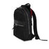 "KNOMO Mini Beaufort Backpack Three Quarter View With Laptop 12"" -  Black 
