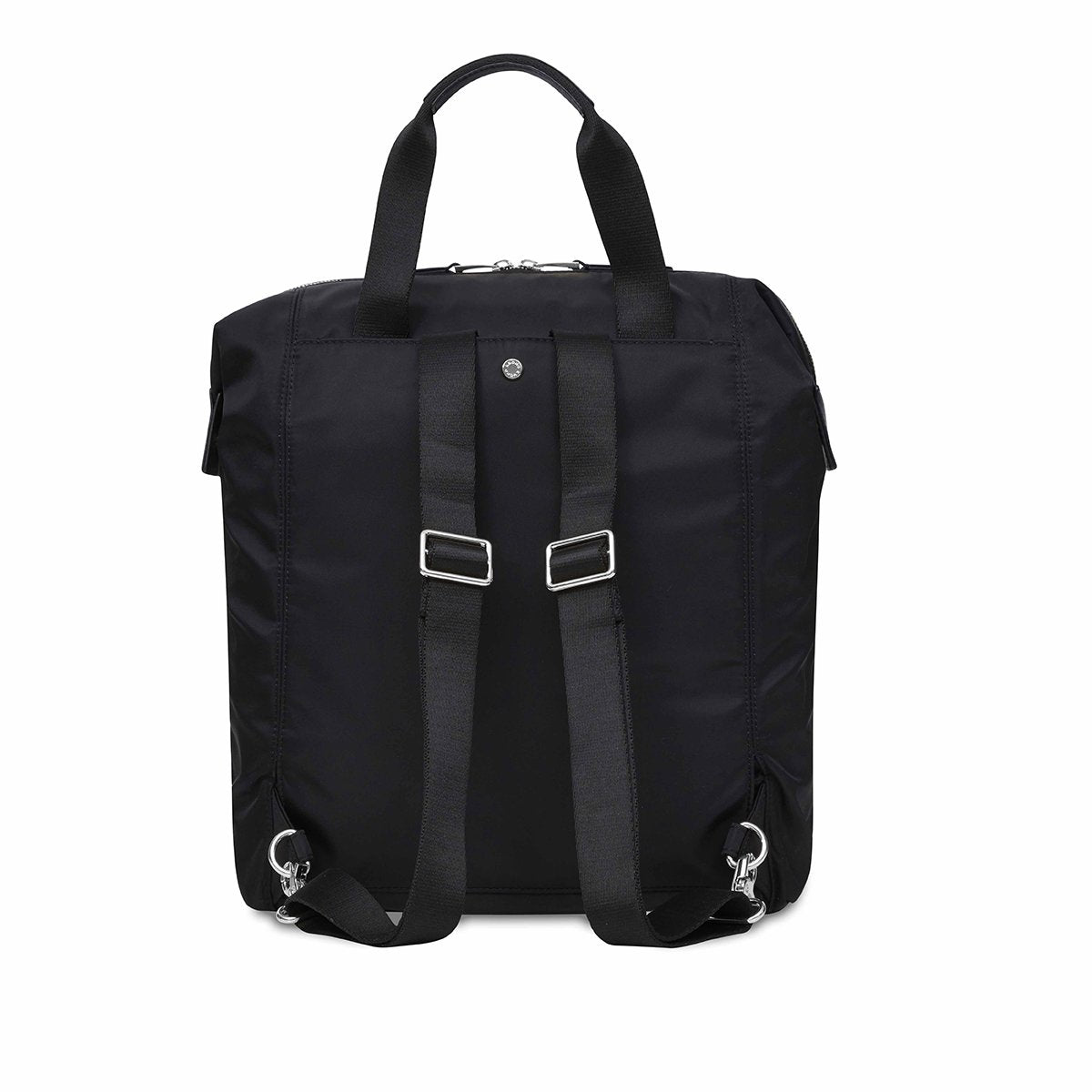 "KNOMO Mini Chiltern Laptop Backpack From Back 13"" -  Black 