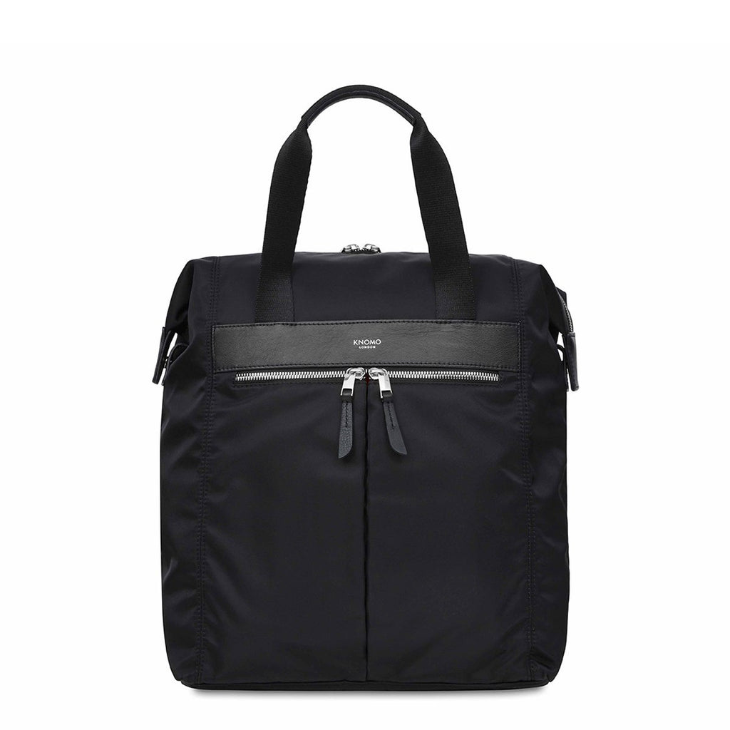 "Mini Chiltern 13"" Laptop Tote Backpack - Black 