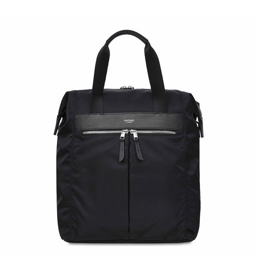 "KNOMO Mini Chiltern Laptop Tote Backpack - 13"" From Front 