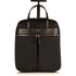 "Burlington 15"" Wheeled Travel Leather Laptop Bag - Black – KNOMO"