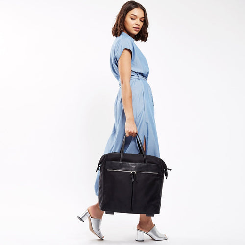 "Wheeled Travel Laptop Tote Bag - 15"" - Sedley 