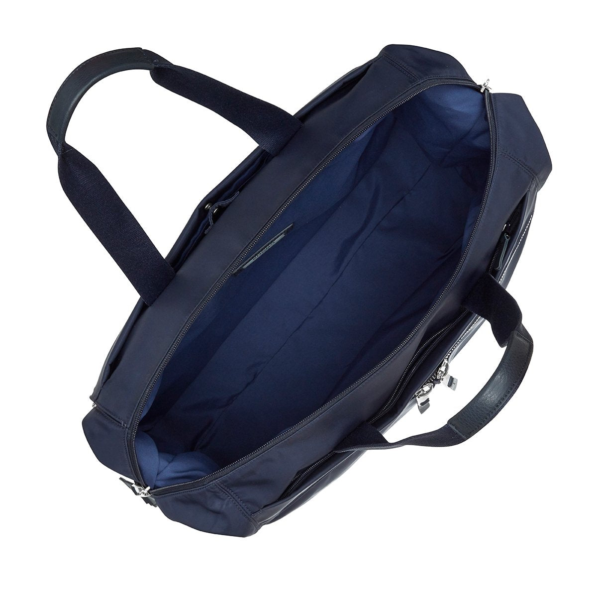 "KNOMO Stratton Duffle/Tote Internal View Empty 15"" -  Dark Navy 