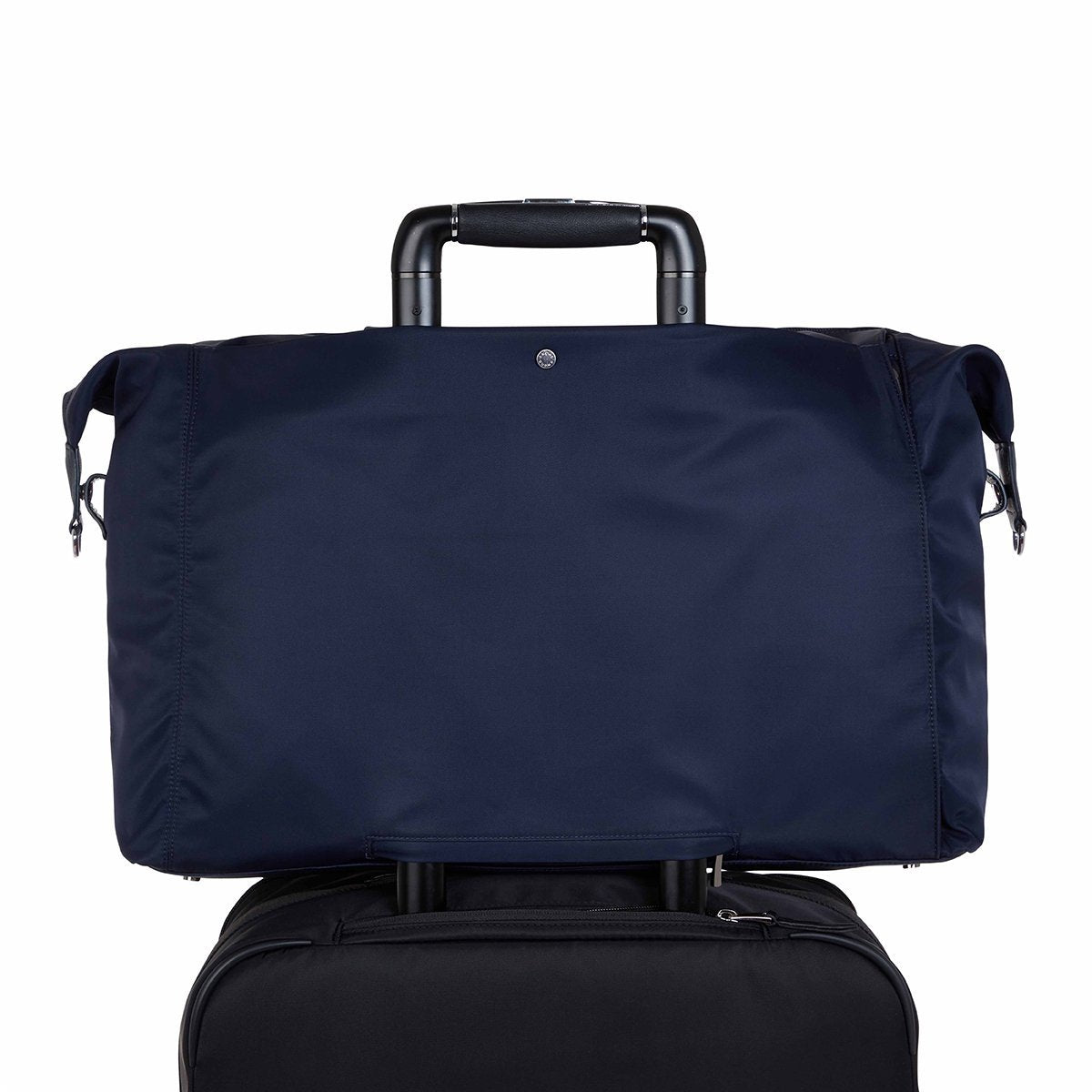 "KNOMO Stratton Duffle/Tote Trolley Sleeve View 15"" -  Dark Navy 
