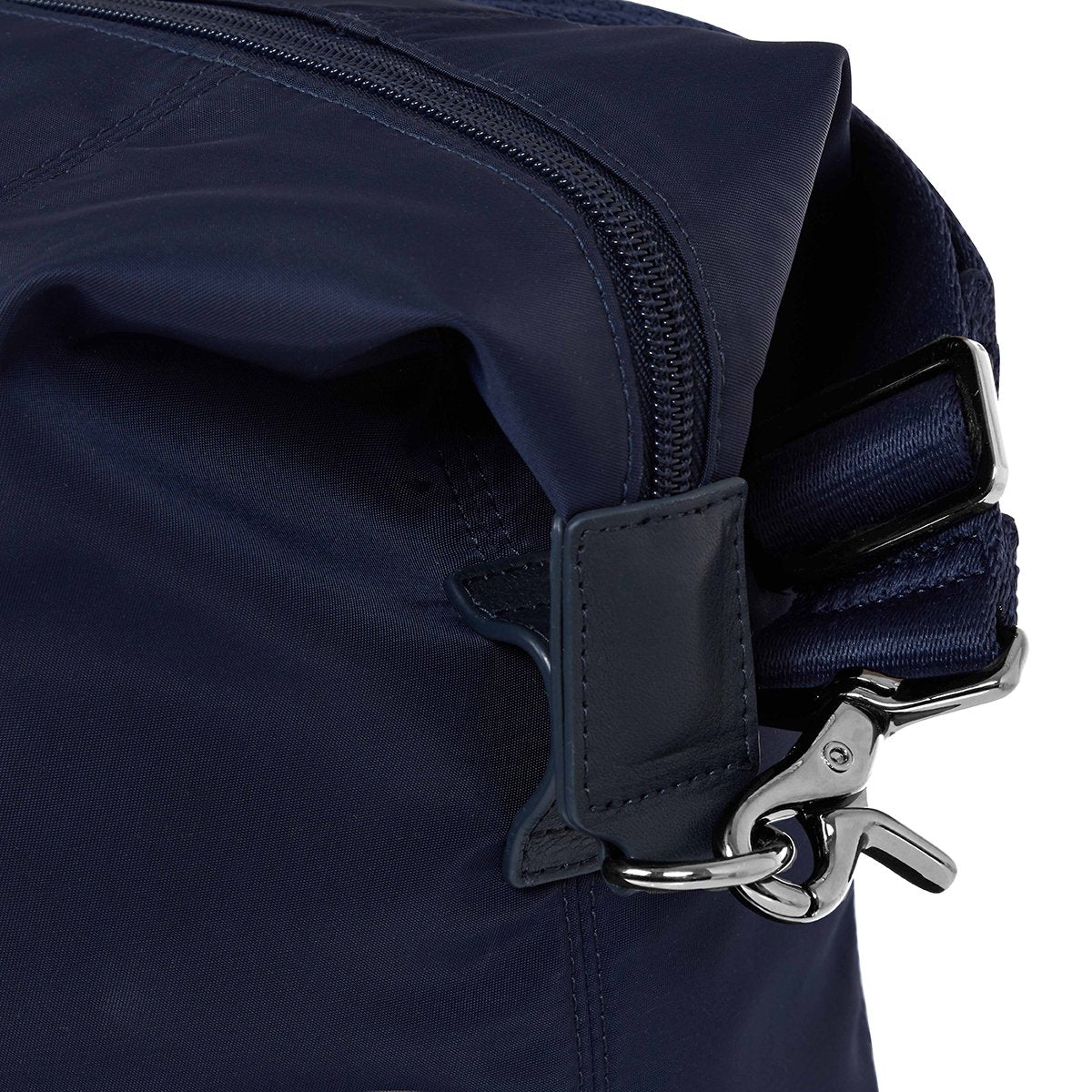 "KNOMO Stratton Duffle/Tote View From Side Close Up 15"" -  Dark Navy 