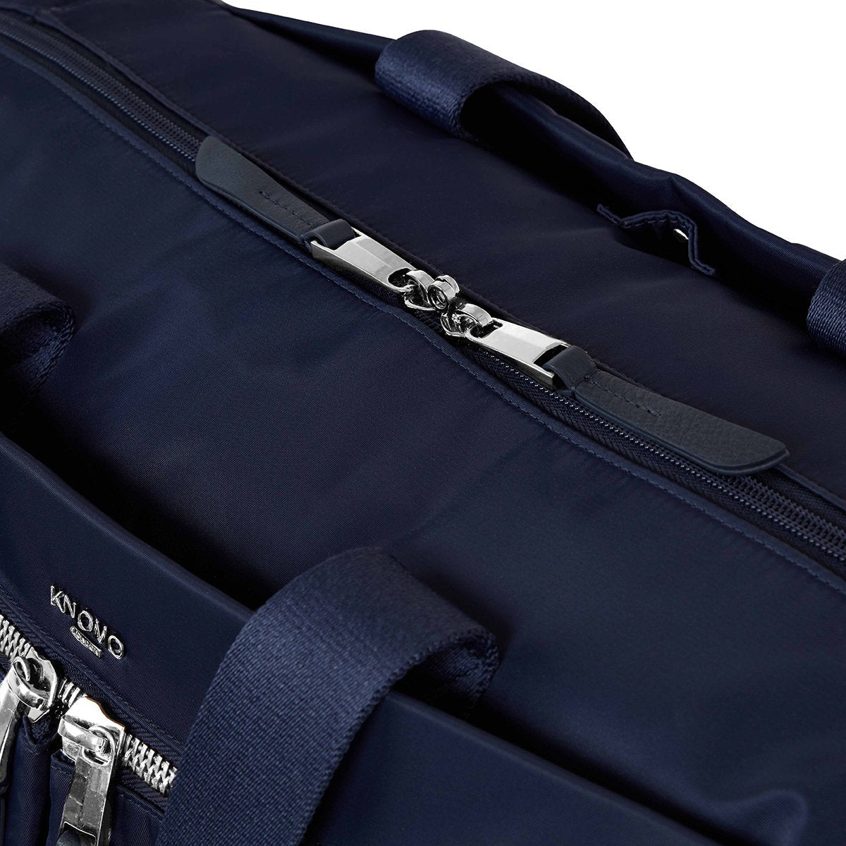 "KNOMO Stratton Duffle/Tote Zip Close Up 15"" -  Dark Navy 