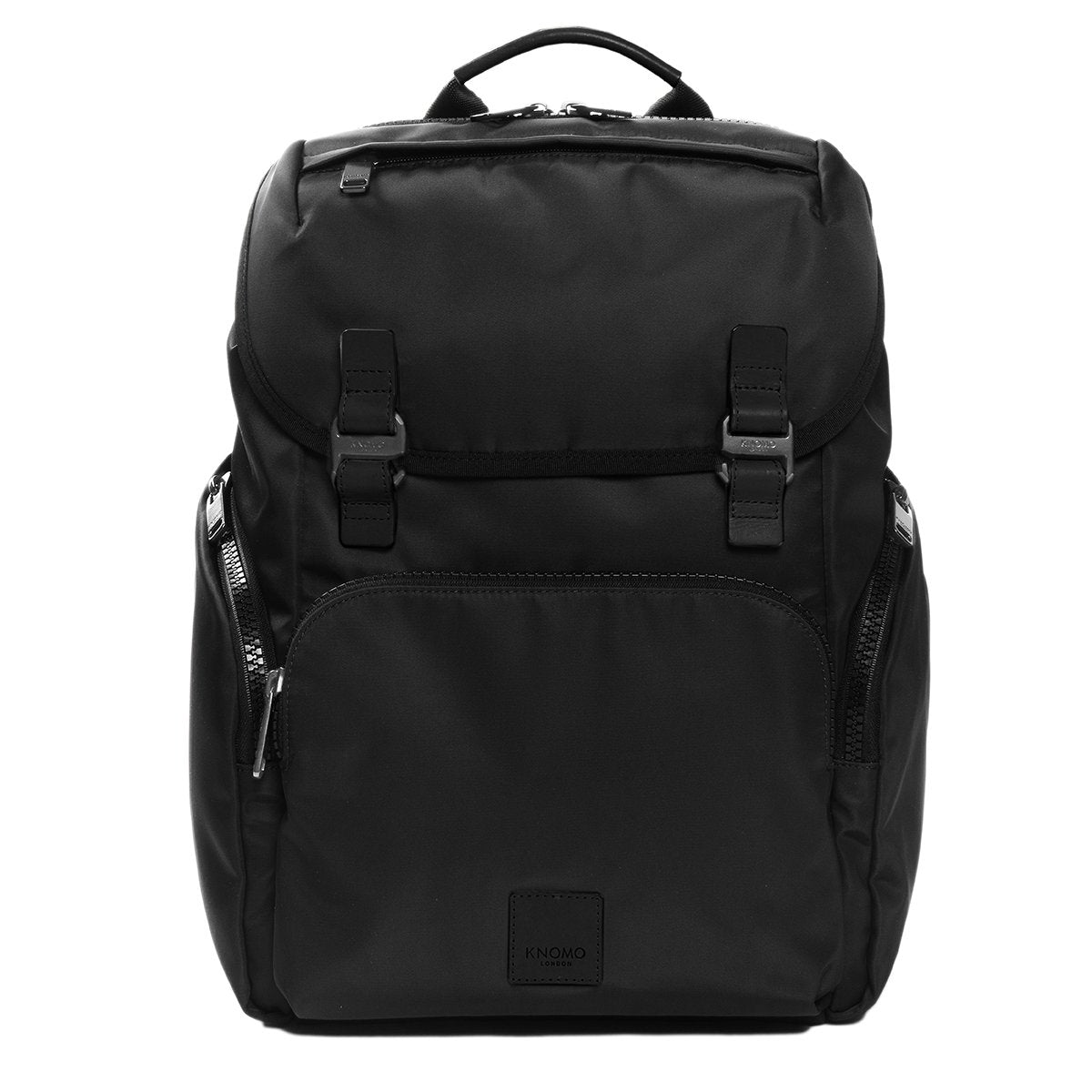 "KNOMO Thurloe Backpack From Front 15"" -  Black 