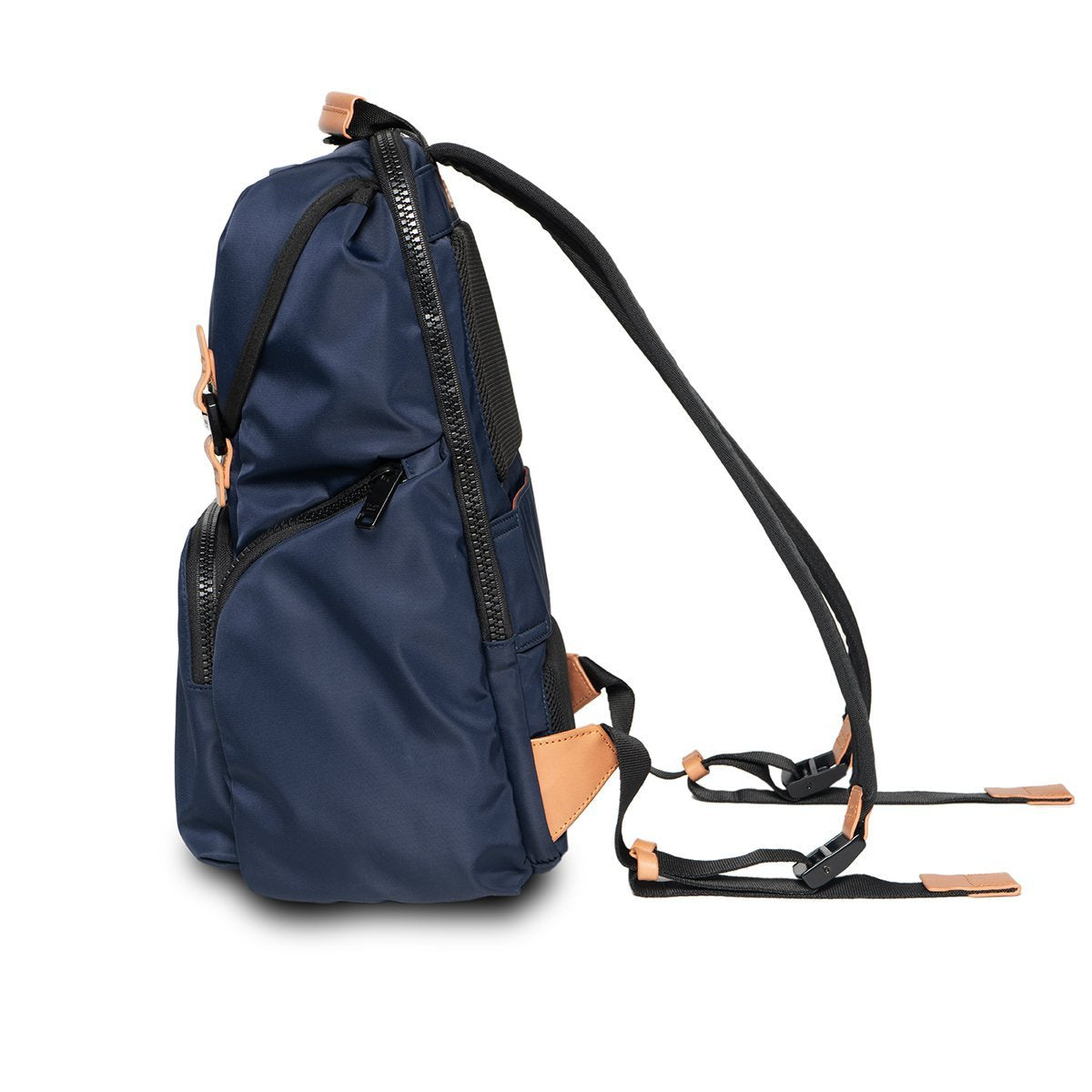 "KNOMO Thurloe Backpack From Side 15"" -  Dark Navy 