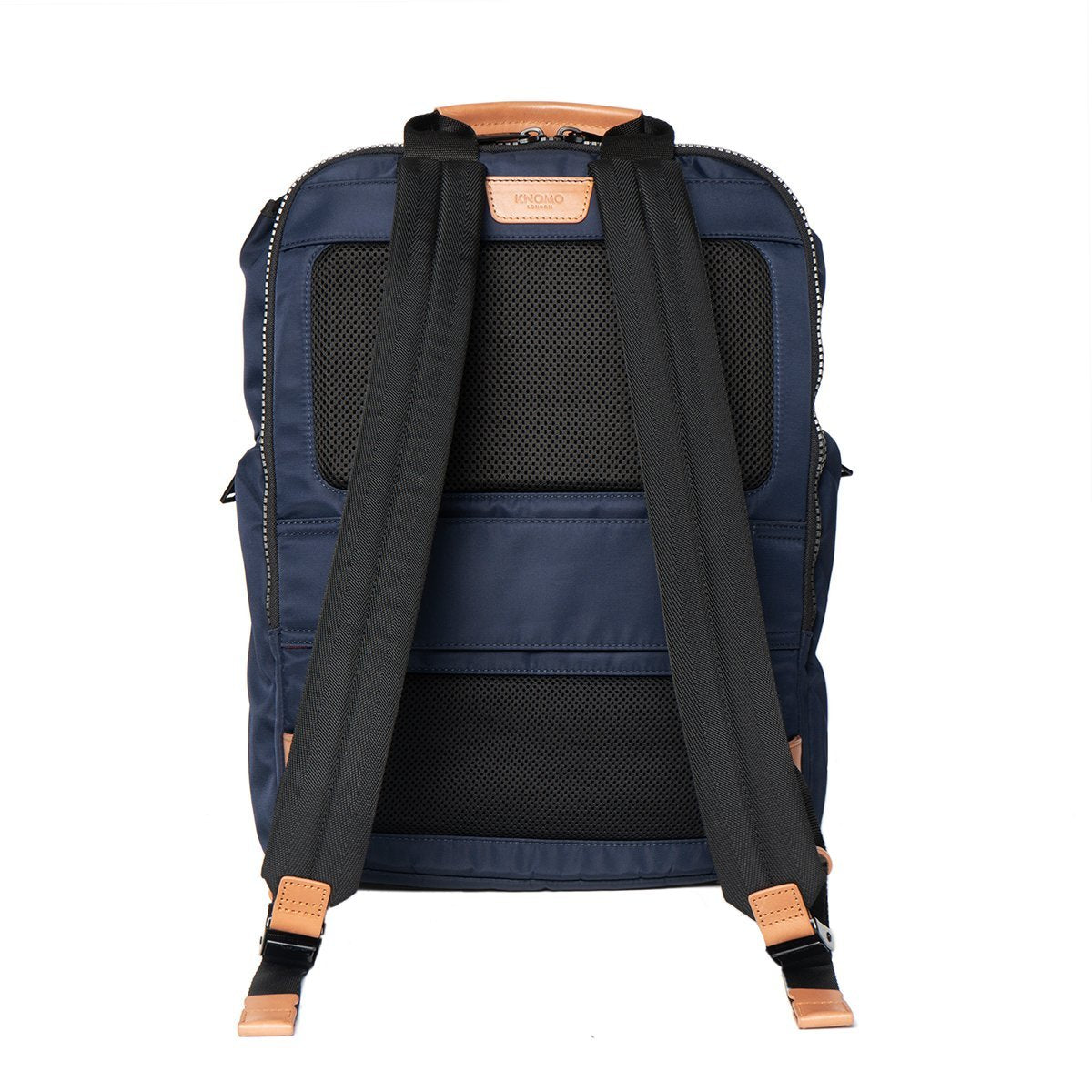 "KNOMO Thurloe Backpack From Back 15"" -  Dark Navy 
