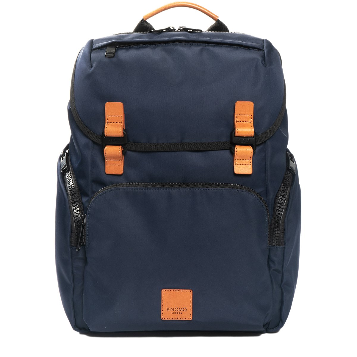 "KNOMO Thurloe Backpack From Front 15"" -  Dark Navy 