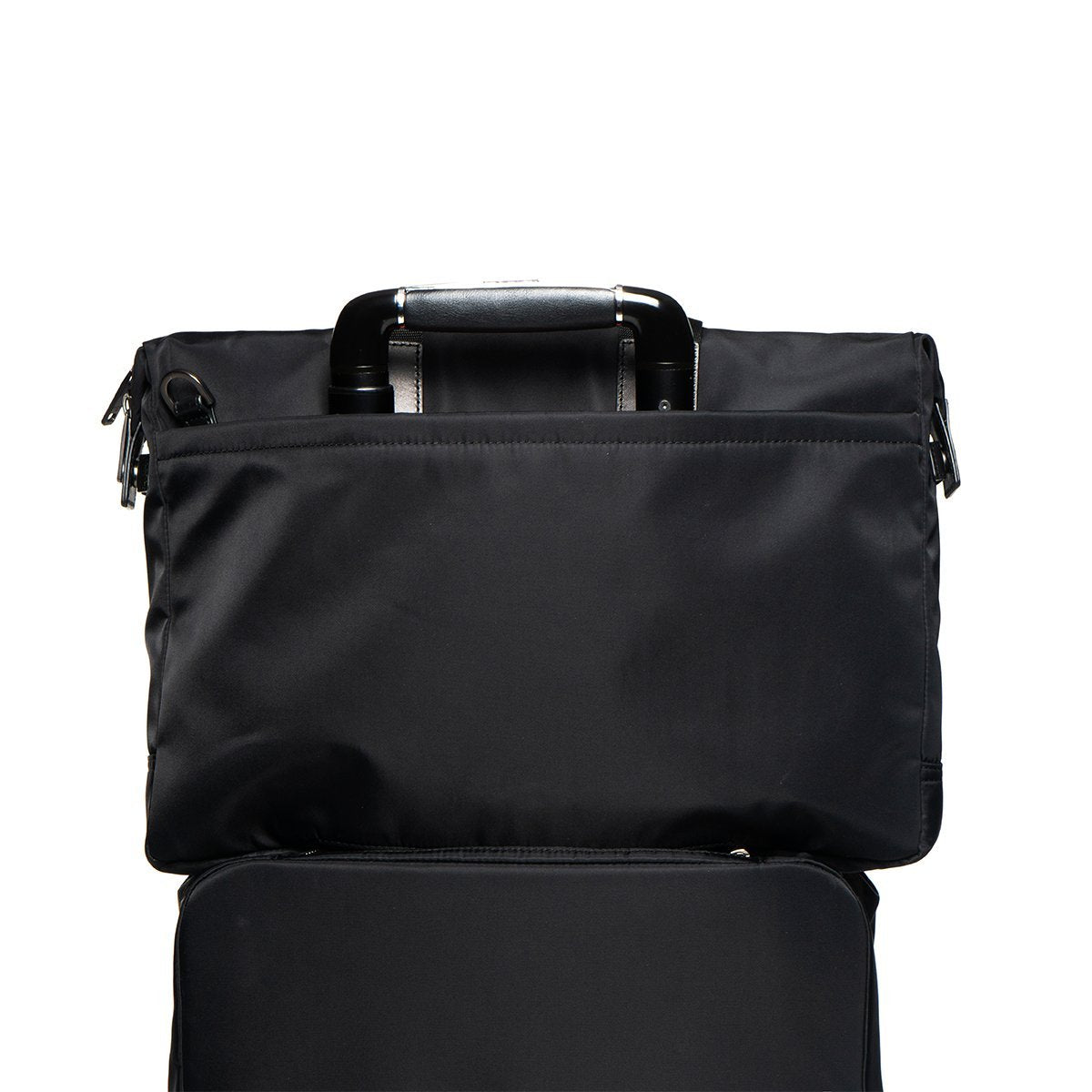 "KNOMO Tournay Laptop Briefcase Trolley Sleeve View 15"" -  Black 