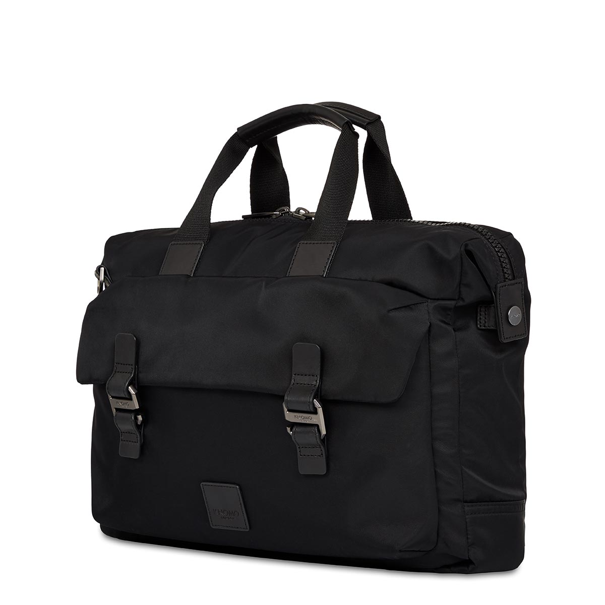 "KNOMO Tournay Laptop Briefcase Three Quarter View 15"" -  Black 