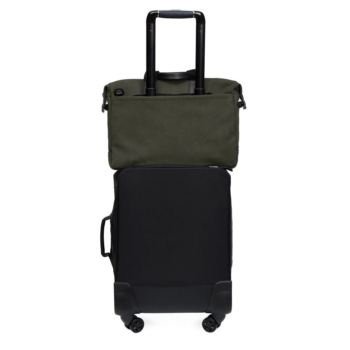 "Tournay Laptop briefcase - 15"" -  Dark Green 