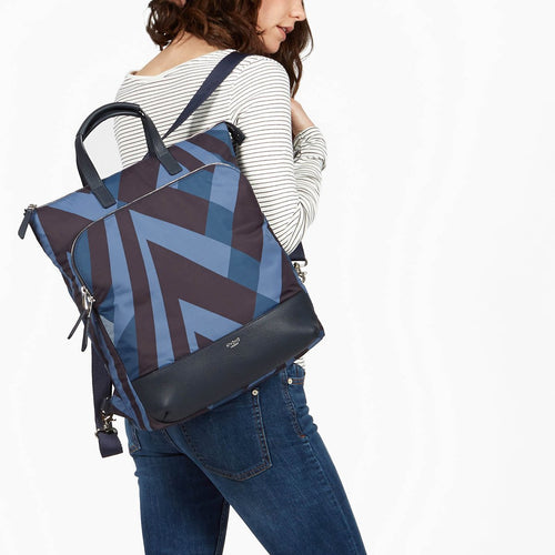 "Laptop Tote Backpack - 15"" (V&A Exclusive) - Harewood 