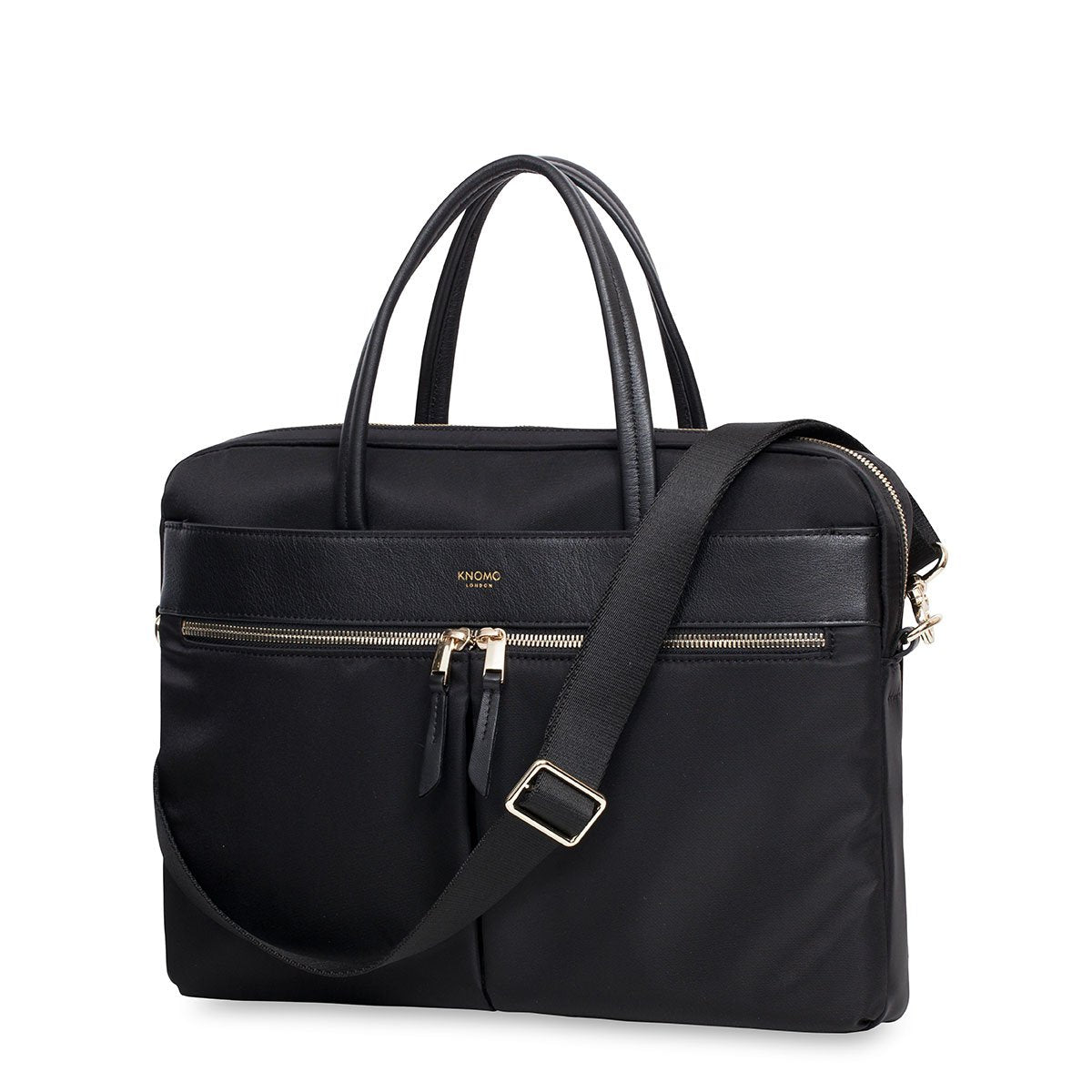 "Hanover - 14"" Laptop Briefcase - 14"" -  Black 