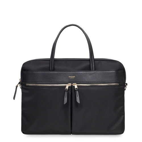 "KNOMO Hanover Laptop Briefcase - 14"" From Front 