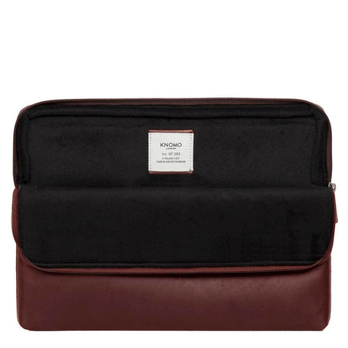 "Leather Laptop Sleeve - 15"" - Leather Laptop Sleeve - 15"" 