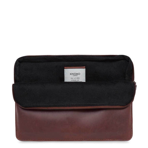 "Leather Laptop Sleeve - 12"" - Leather Laptop Sleeve - 12"" 