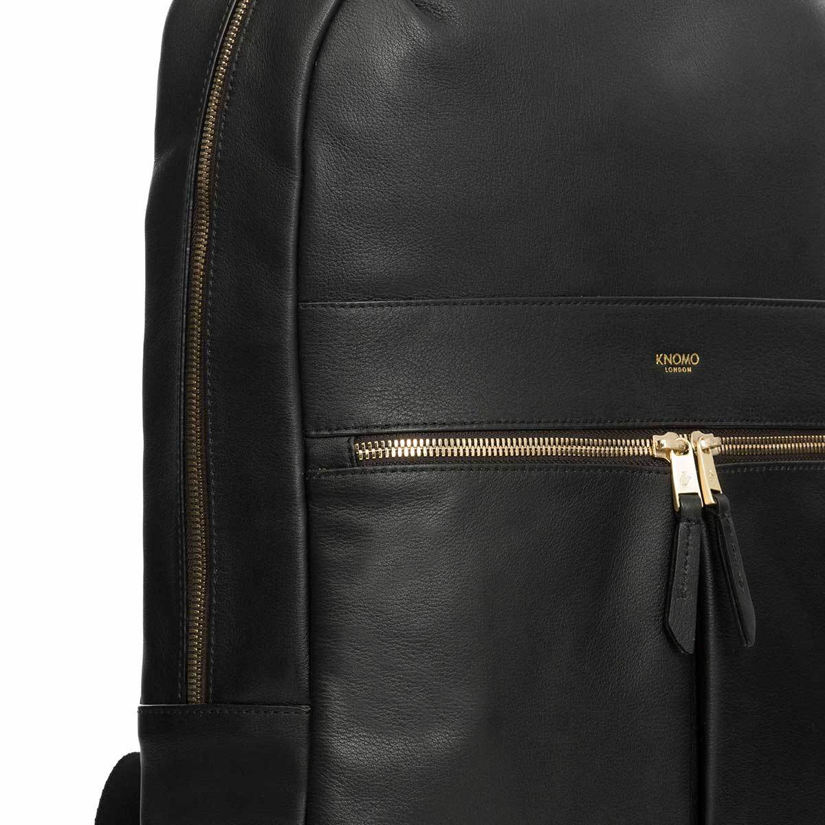 ceae5fe9d5d4 Beaux Leather Laptop Backpack - 14