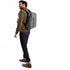 "KNOMO Harpsden Laptop Backpack Male Model Wearing 14"" -  Grey 