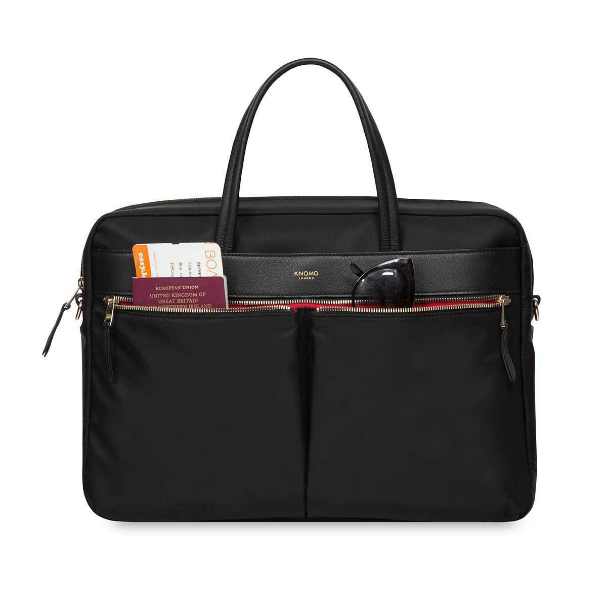 "Hanover Laptop Briefcase - 15"" -  Black 