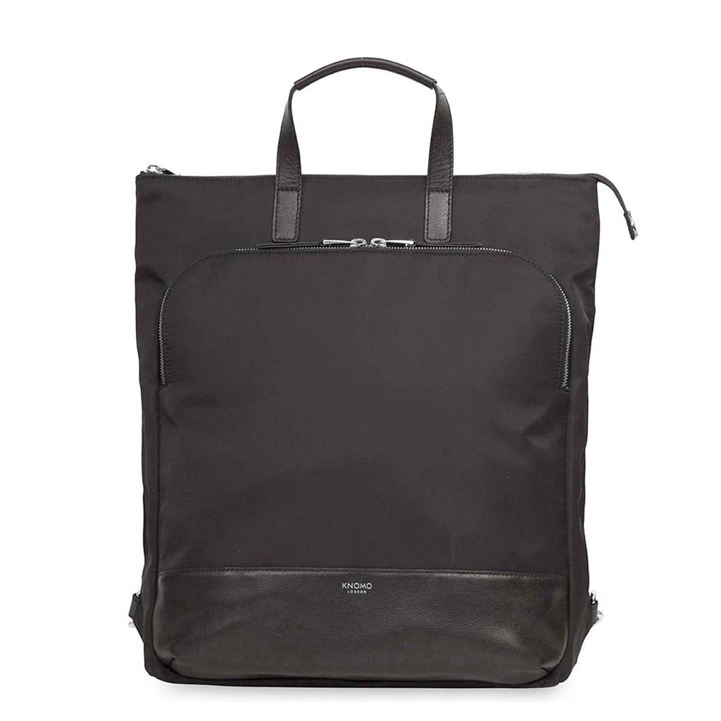 "Harewood 15"" Slim Laptop Tote Backpack - Black – KNOMO"