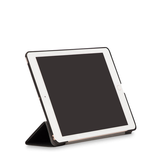 "IPAD 5th GENERATION (2016 release) - 9.7"" - Leather Tri-fold iPad Folio (2016) - 9.7"" 