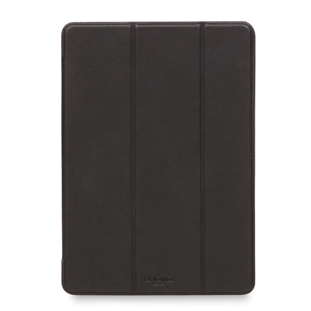 "Leather 9.7"" iPad Pro 2nd Gen Folio Case Tri-Fold - Black – KNOMO"