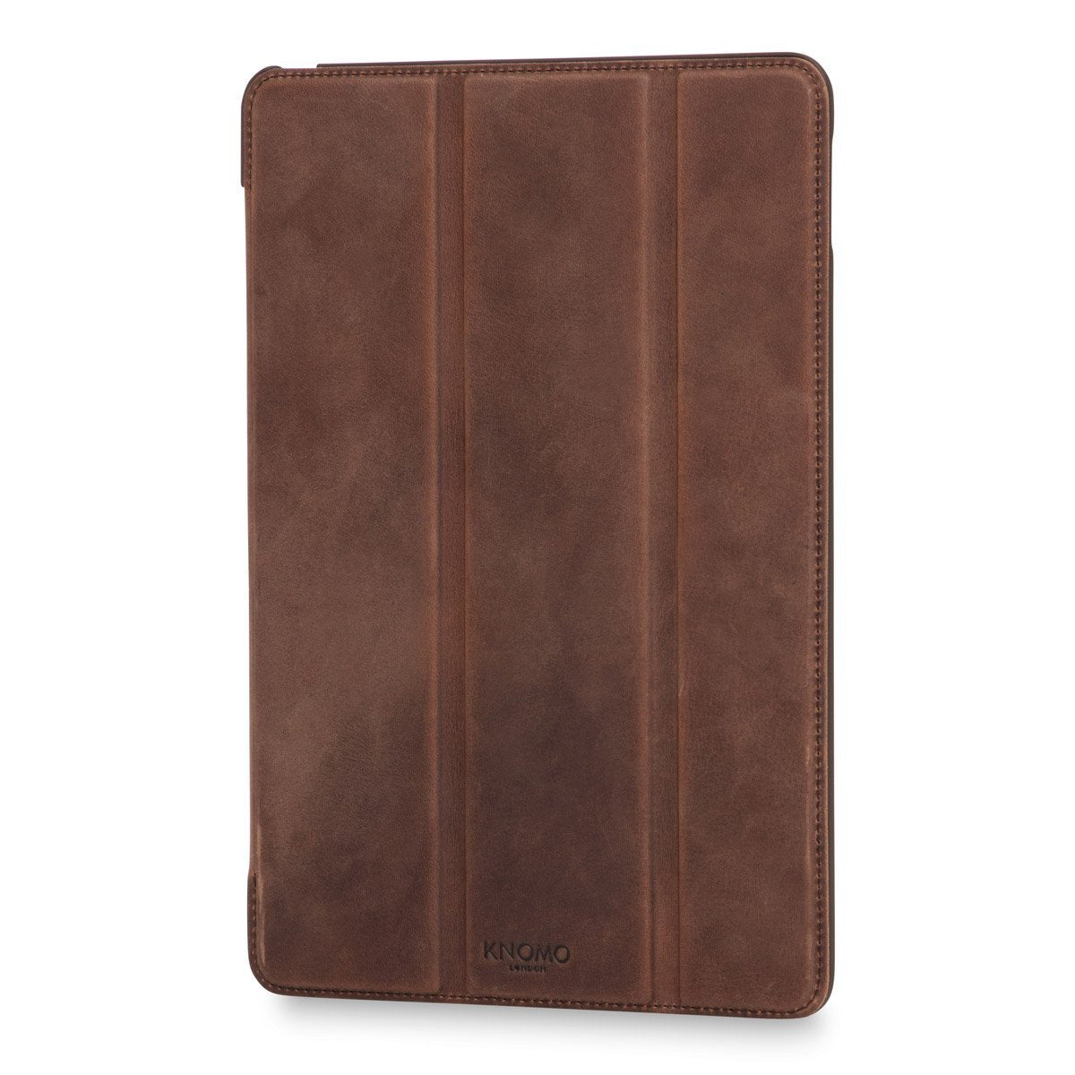 "Leather 9.7"" iPad Pro 2nd Gen Folio Case Tri-Fold - Brown – KNOMO"