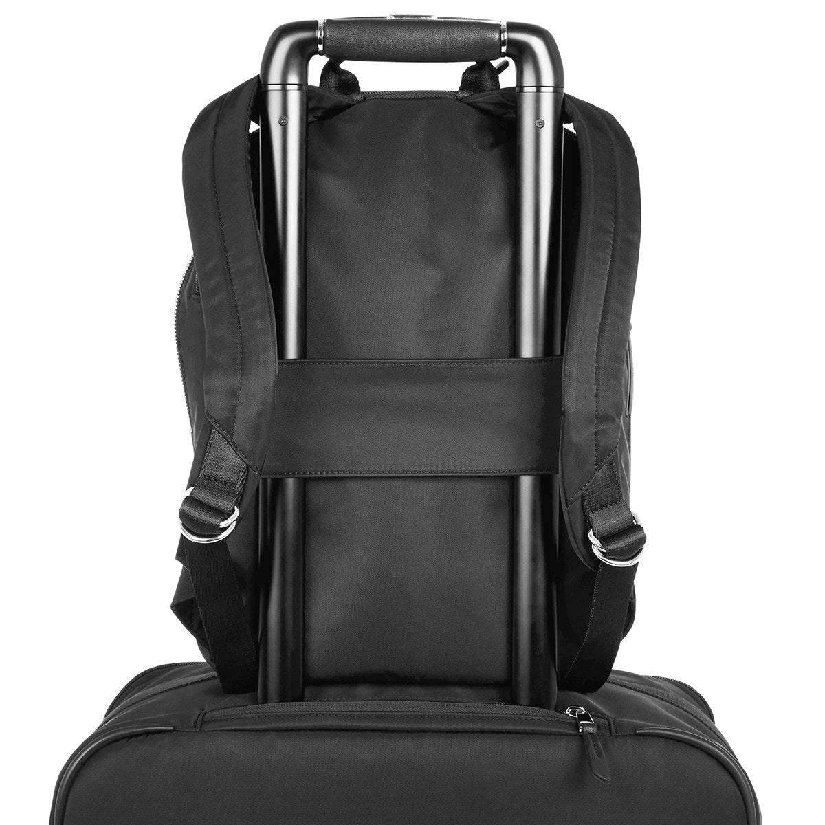 "KNOMO Mini Beaufort Backpack Trolley Sleeve View 12"" -  Black 