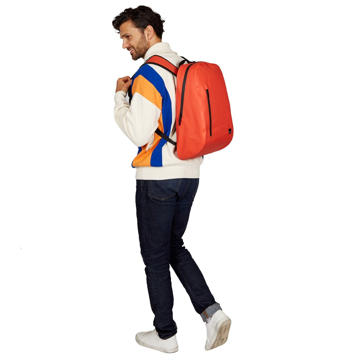 "Harpsden Waterproof Laptop Backpack - 14"" -  Flash Orange 