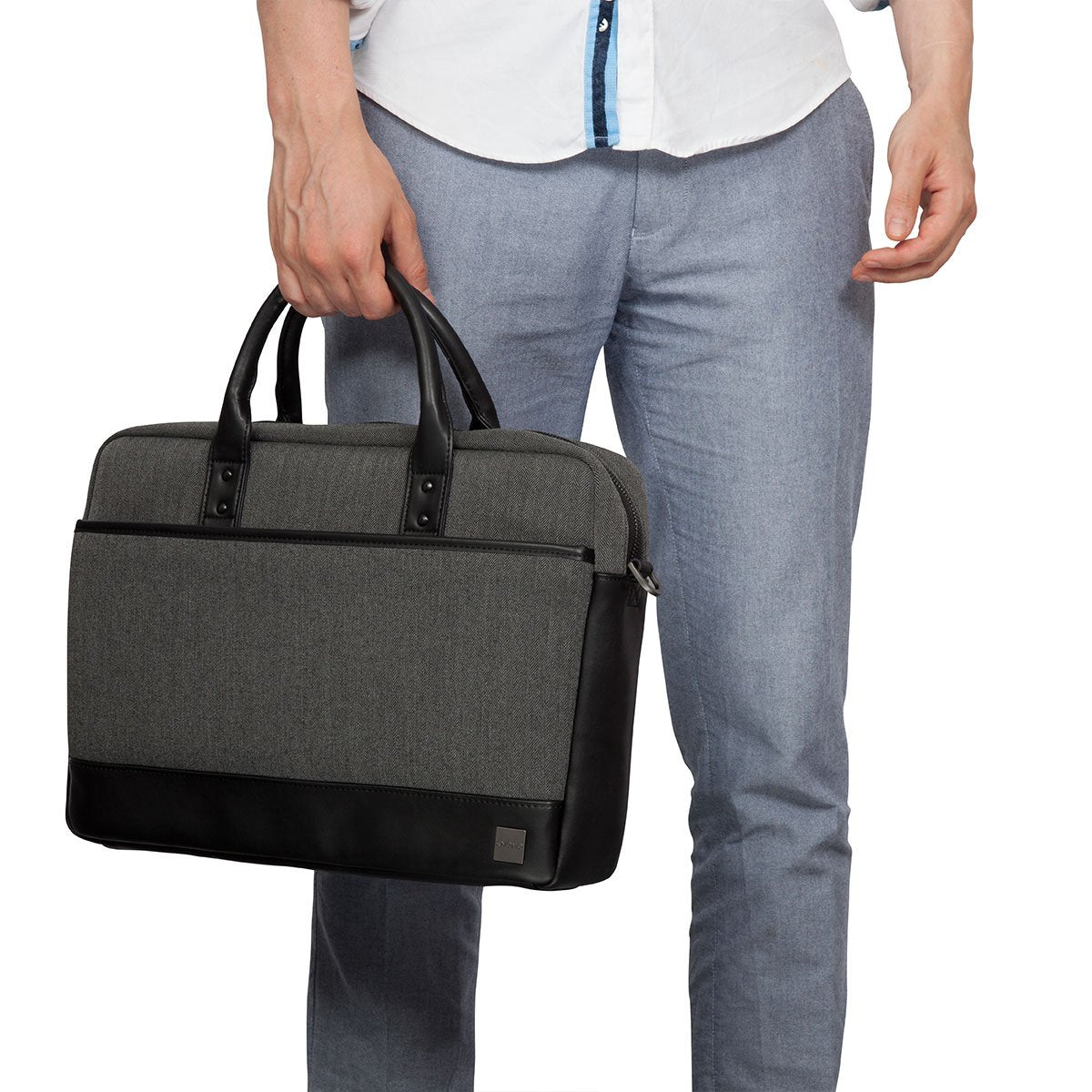 "Princeton Laptop Briefcase - 15.6"" -  Grey 