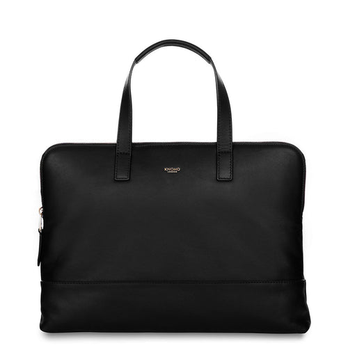 "Leather Laptop Briefcase - 14"" - Reeves 