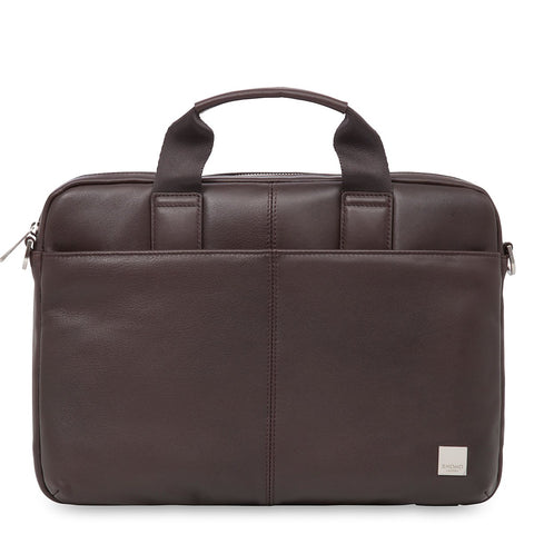 Leather Laptop Briefcase - 13""