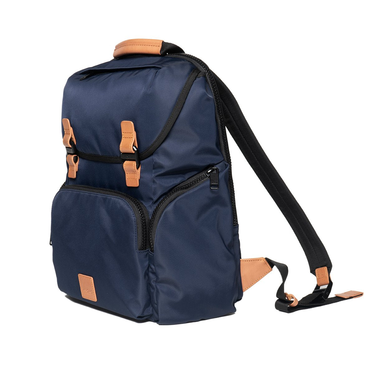 "KNOMO Thurloe Backpack Three Quarter View 15"" -  Dark Navy 