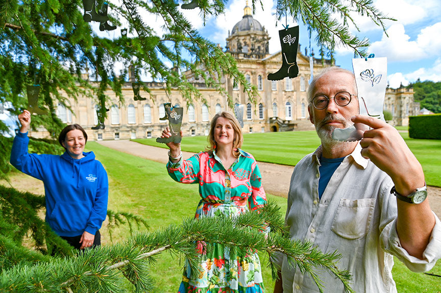 Art Installation Commission for Yorkshire Cancer Research at Castle Howard