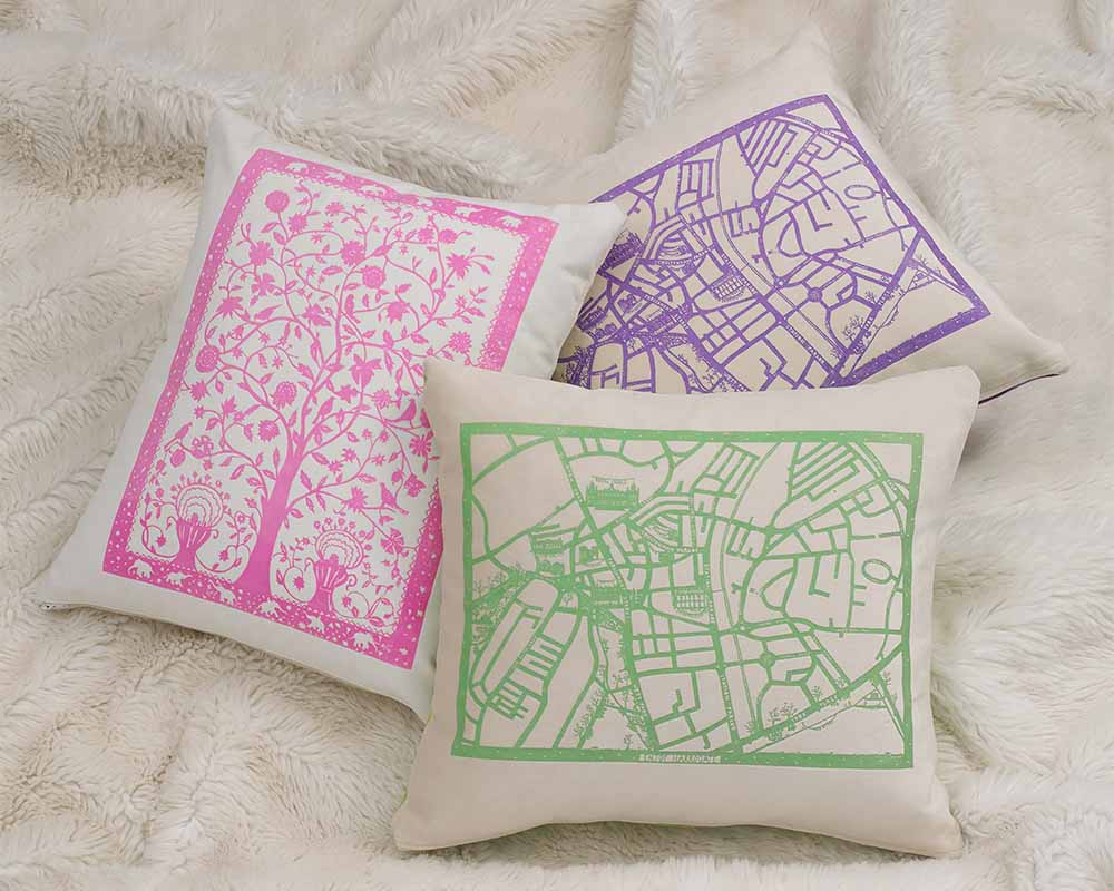 Luxury designer cushions by Anita Bowerman
