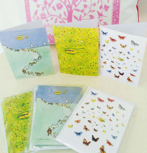 Yorkshire Air Ambulance notelet cards 2017 deigned by Anita Bowerman